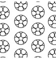 football soccer pattern image vector image vector image