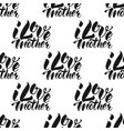 i love mother calligraphy text seamless pattern vector image