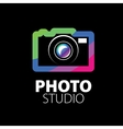 logo for photo studio vector image vector image