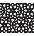 Ornamental background Arabic seamless pattern vector image