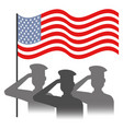 people of the armed forces design vector image