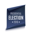 Presidential Election 2016 background vector image vector image