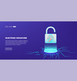 safety data security and deposits protection vector image vector image