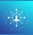 Shareholder investor icon