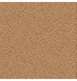 Textured sand background vector image vector image