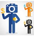 CameraHead vector image vector image