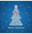 christmass tree vector image vector image