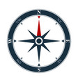 compass rose icon navigation symbol vector image