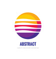 corporate - concept business logo temlate vector image vector image