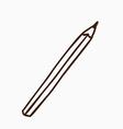 Hand Drawn Pencil vector image vector image