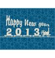 locomotive year vector image vector image