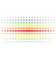 open book spectral halftone effect vector image vector image