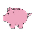 piggy money savings symbol vector image vector image