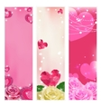 Set of love banners Elements for design vector image vector image