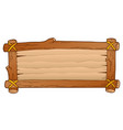 wooden board theme image 1 vector image vector image