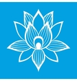 Best lotus flower sign vector image