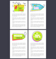 best weekend sale posters set vector image vector image