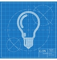 blueprint icon vector image vector image