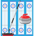 curling 01 vector image