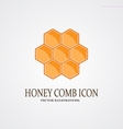 Honey icon vector image vector image