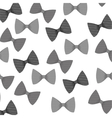 Isolated bow tie vector image vector image