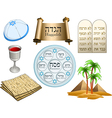 Passover Symbols Pack vector image vector image