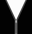 zip vector image vector image