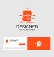 business logo template for algorithm business vector image vector image