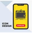 cash finance money personal purse glyph icon in vector image vector image