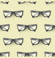 fashion sunglasses accessory seamless pattern vector image