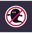 No Ban or Stop signs Halloween Ghost icon