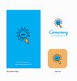 seo setting company logo app icon and splash page vector image