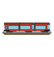 train carriage isolated vector image