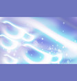 abstract a glowing shape blurred blue composition vector image