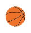 ball basketball sport classic play vector image vector image
