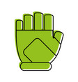 fingerless gloves icon image vector image vector image