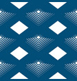 geometrical seamless pattern line pyramids in the vector image vector image