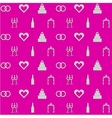 Pink background for wedding vector image