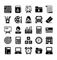 school and education icons 2 vector image