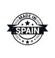 spain stamp design vector image