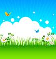 summer grass vector image vector image