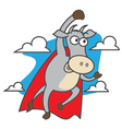 Super Cow vector image vector image