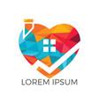 sweet home logo design vector image vector image