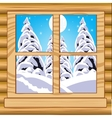 View from window vector image vector image