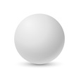 White pearl for your design vector image