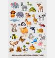 animals-set vector image