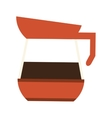 coffee kettle icon vector image