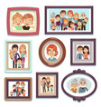 family portrait photos pictures people photo vector image vector image