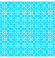 white octagon shape pattern background vector image vector image