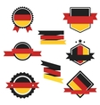 world flags series flag germany vector image